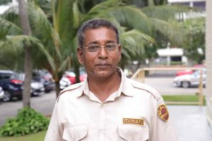 P. Kadirgamanathan - Security Officer at St. Andrew's Scots Kirk