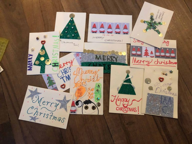 St. Andrew's Scots Kirk Sunday School Merry Christmas Cards 1