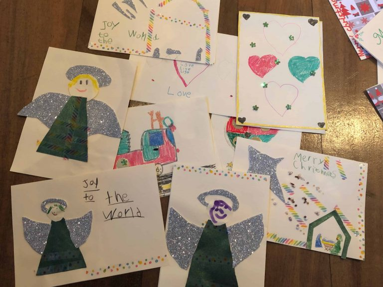 St. Andrew's Scots Kirk Sunday School Merry Christmas Cards 4