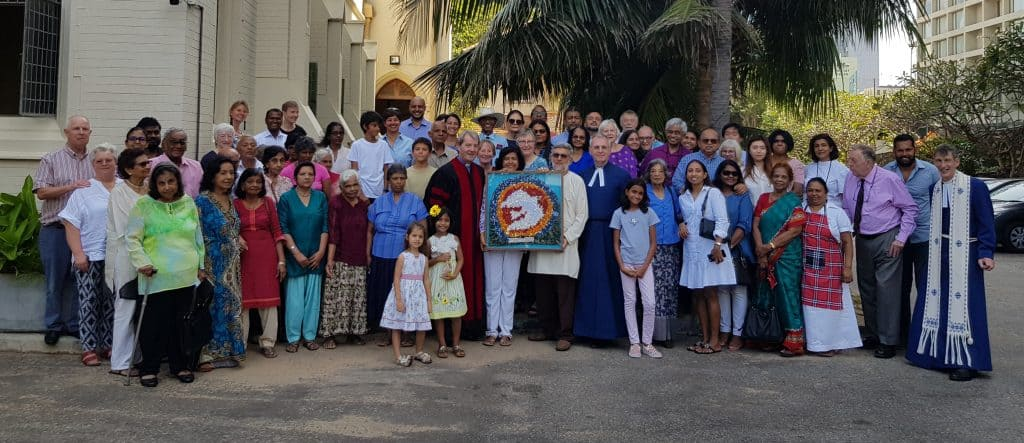 The Congregation Of St. Andrews Scots Kirk Sri Lanka Copy